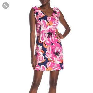New with tags Trina Turk sirena floral mini dress
